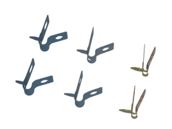 Fuel and brake line clips